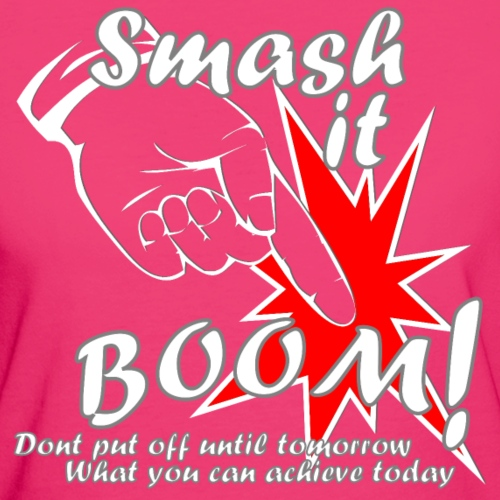 Smash it Boom Achieve white