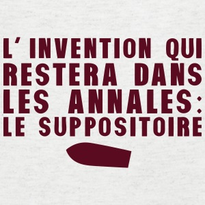 invention annales suppositoire humour Tee shirts - T-shirt Homme col V