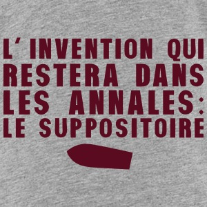 invention annales suppositoire humour Tee shirts - T-shirt Premium Enfant