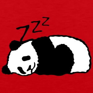 Panda sleeping 5 Sports wear - Men's Premium Tank Top