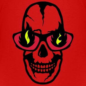 Skull flame burning fire 2004 Shirts - Kids' Premium T-Shirt