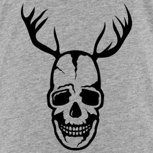 skull Death Head Wood Deer Shirts - Kids' Premium T-Shirt