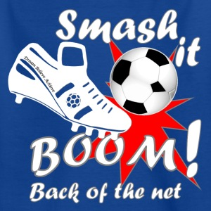 Smash it Boom Football Believe teen's t-shirt - Teenage T-shirt
