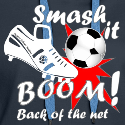 Smash it Boom back of the net