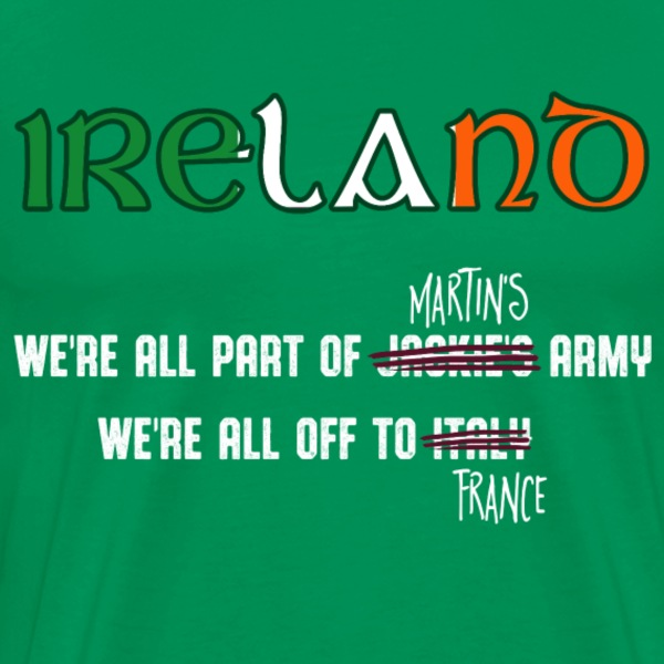 Ireland Euro2106 Supporters T-Shirt - Men's Premium T-Shirt