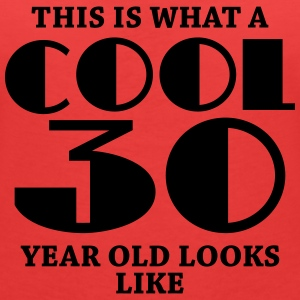 This is what a cool 30 year old looks like Tee shirts - T-shirt col V Femme