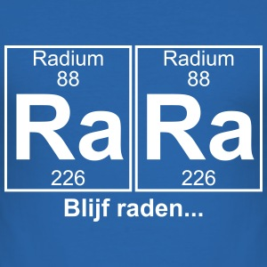 RA RA blijf raden - text can be changed - Men's Slim Fit T-Shirt