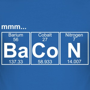 Ba-Co-N (bacon) - Full T-skjorter - Slim Fit T-skjorte for menn