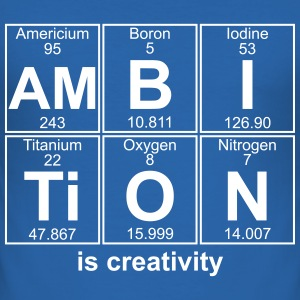 AMBITION is creativity - text can be changed - Men's Slim Fit T-Shirt