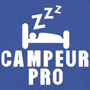 campeur pro dormir dort expression Sweat-shirts - Sweat-shirt Homme
