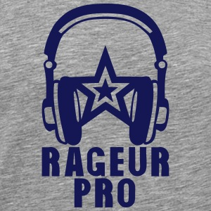 rageur pro casque audio citation Tee shirts - T-shirt Premium Homme