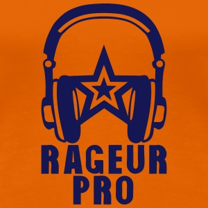 rageur pro casque audio citation Tee shirts - T-shirt Premium Femme