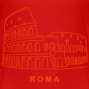 Colosseum in Rome Shirts - Teenage Premium T-Shirt