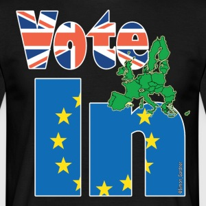 EU Referendum StrongerIn UK - Men's T-Shirt