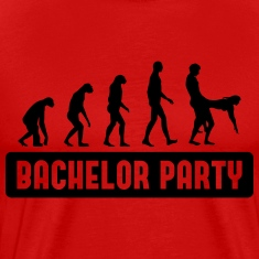 Evolution Bachelorparty T-Shirts
