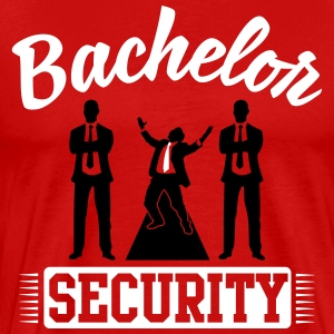 Bachelor Security Tee shirts - T-shirt Premium Homme