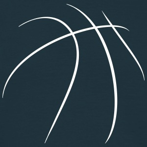 Basketball OutLines - Männer T-Shirt