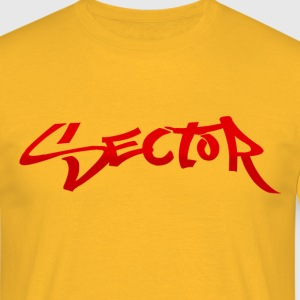 Sector Mens T-Shirt (Yellow) - Männer T-Shirt
