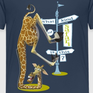 Madagascar Melman What kind of safari Kinder T-Shi - Kinder Premium T-Shirt