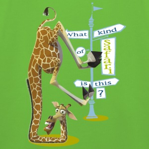 Madagascar Melman What kind of safari Kid's Hoodie - Kids' Premium Hoodie