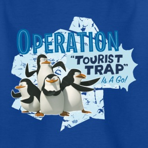 Madagascar Pinguine Operation Tourist Trap Teenage - Teenage T-shirt