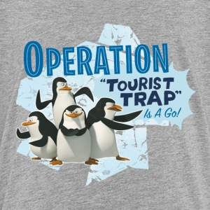 Madagascar Pinguine Operation Tourist Trap Teenage - Teenage Premium T-Shirt