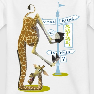 Madagascar Melman What kind of safari Tee shirt En - T-shirt Enfant