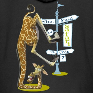 Madagascar Melman What kind of safari Kid's Zip Ho - Kids' Premium Zip Hoodie