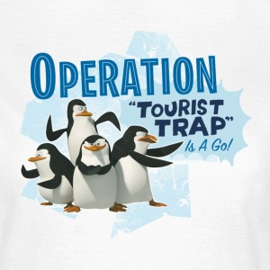 Madagascar Pinguine Operation Tourist Trap Tee shi - T-shirt Femme