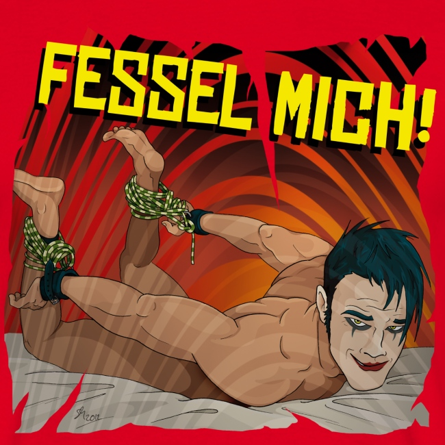 Fessel Mich / rot / Slim