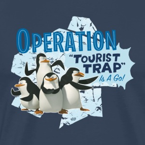 Madagascar Pinguine Operation Tourist Trap Men T-S - Men's Premium T-Shirt