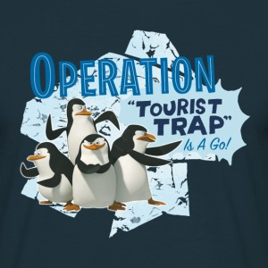 Madagascar Pinguine Operation Tourist Trap Männer - Männer T-Shirt