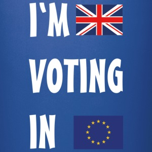 Brexit I'm Voting In Mugs & Drinkware - Full Colour Mug