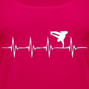 Heartbeat - HipHop - Frauen Premium Tank Top