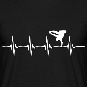 Heartbeat - HipHop - Männer T-Shirt