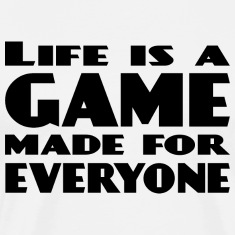 life is a game black