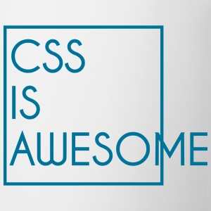 CSS is awesome | Design Tassen & Zubehör - Tasse
