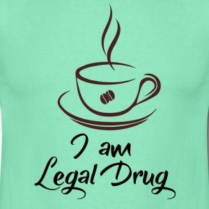 I am coffee legal drug - T-shirt Homme