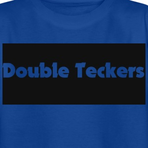 Double Teckers Blue top - Teenage T-shirt