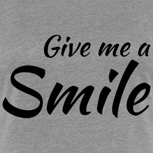 Give me a smile T-shirts - Premium-T-shirt dam