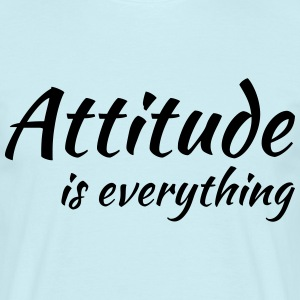 Attitude is everything Tee shirts - T-shirt Homme