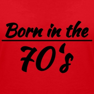Born in the 70's T-Shirts - Women's V-Neck T-Shirt