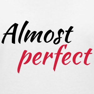 Almost perfect T-shirts - T-shirt med v-ringning dam