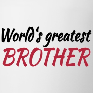 World's greatest brother Mugs & Drinkware - Mug