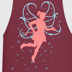 Fairy with pixydust - 3 Color Vector  Aprons - Cooking Apron