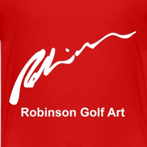 Robinson Golf Art White Logo Shirts - Teenage Premium T-Shirt