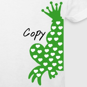 froschkönig copy und paste T-Shirts - Kinder Bio-T-Shirt