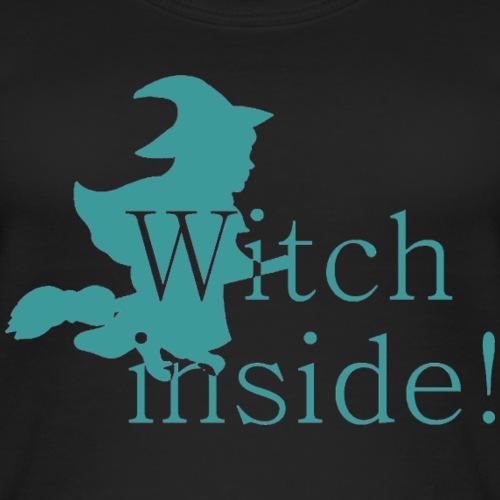 GIF Witch blau