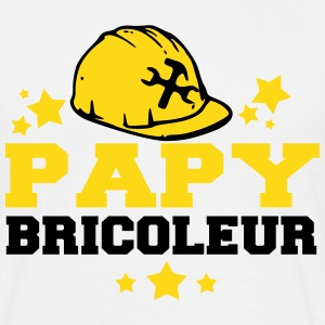 papy bricoleur Tee shirts - T-shirt Homme