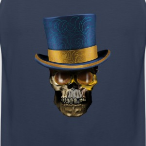 Skull with Top Hat Vêtements de sport - Débardeur Premium Homme